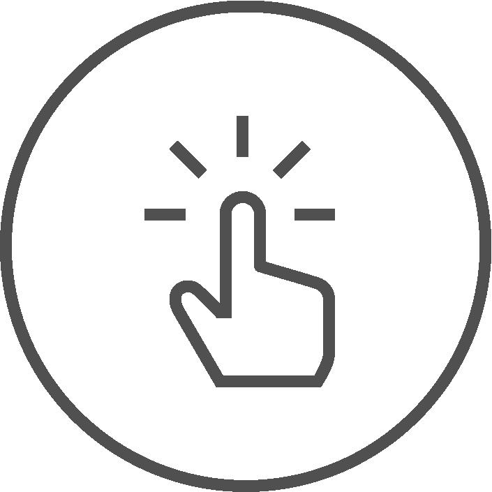 Per Klick anpassbare Möbel Icon