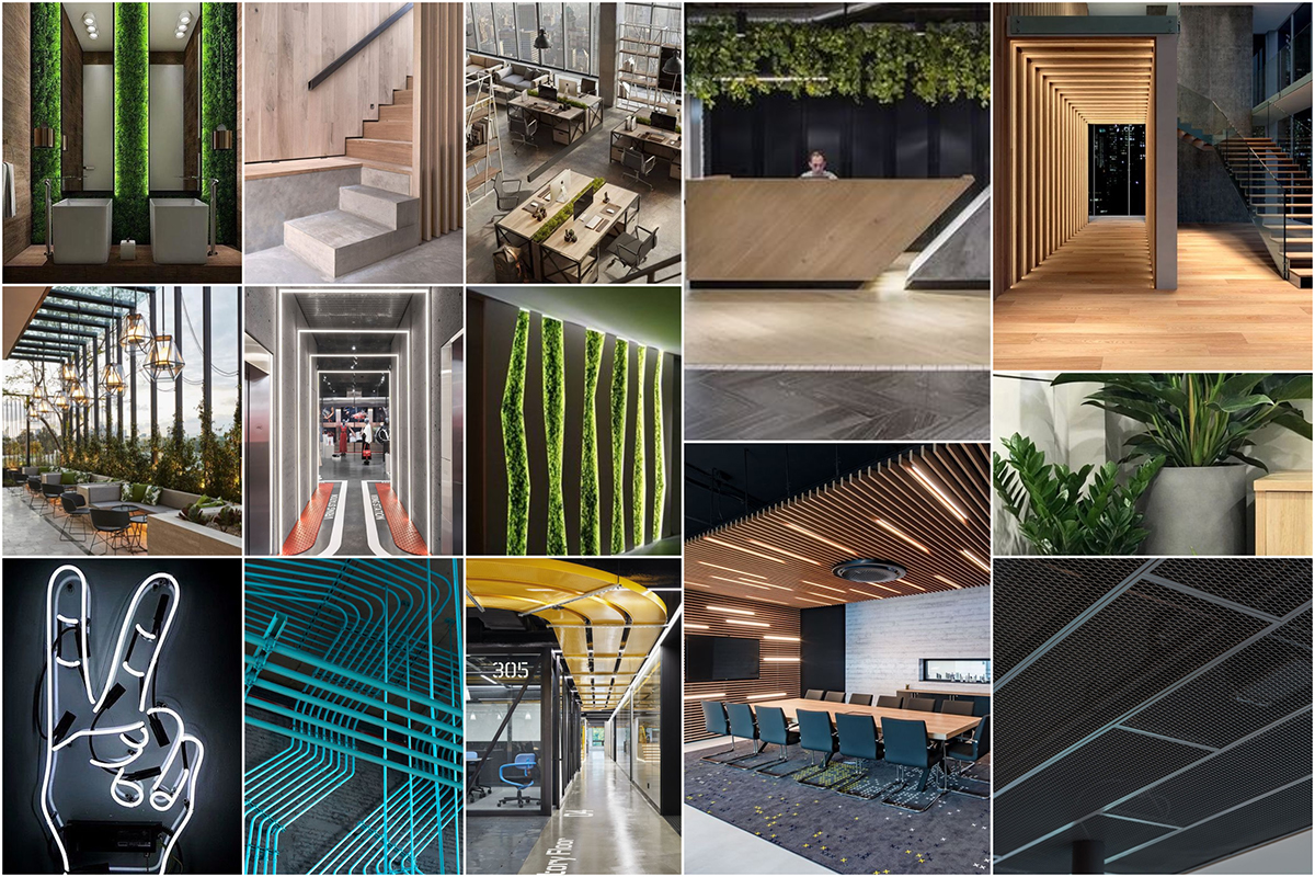 Moodboard zum Urban Eco Stil