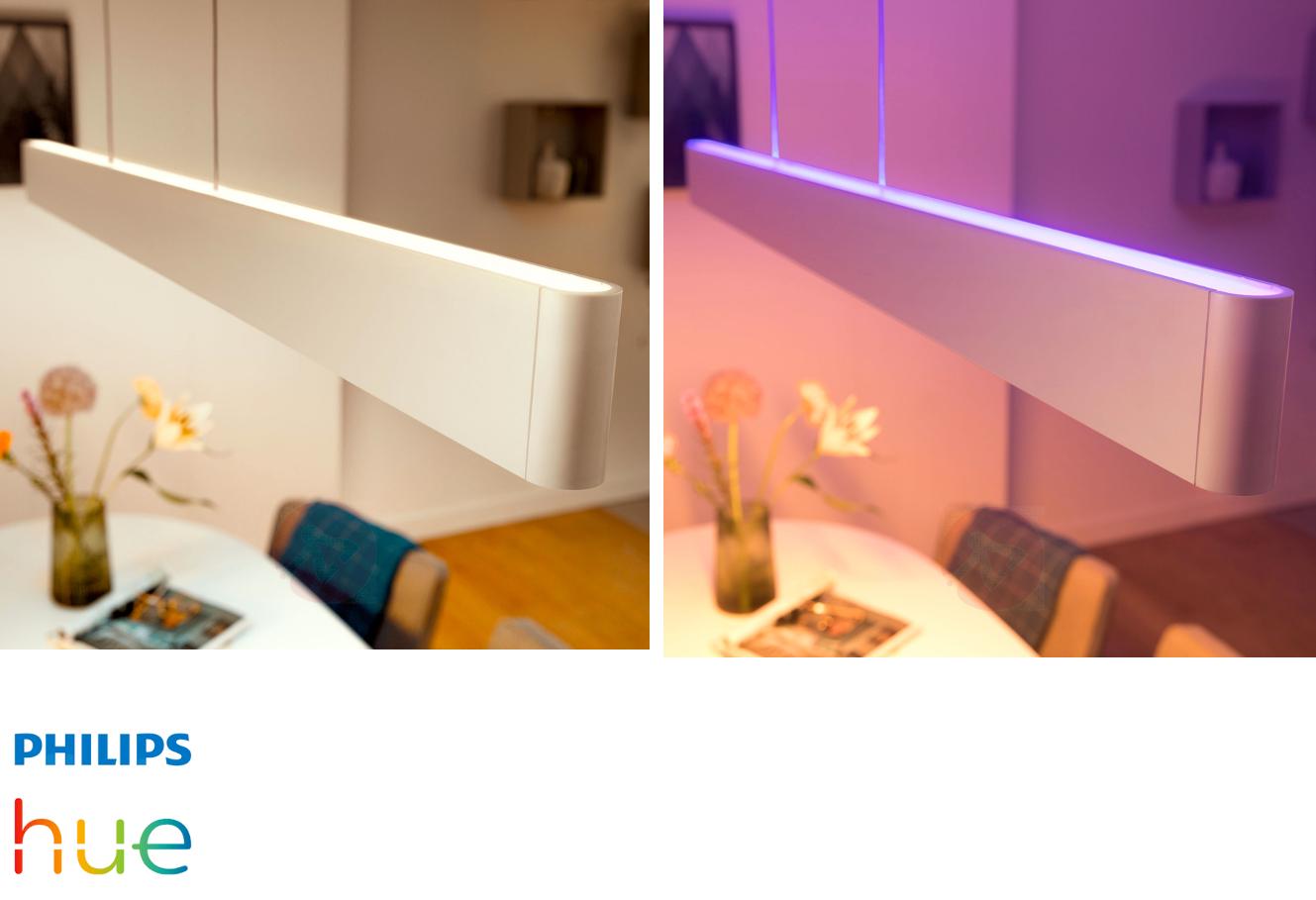 Lichtfarbenänderung mit Philips Hue