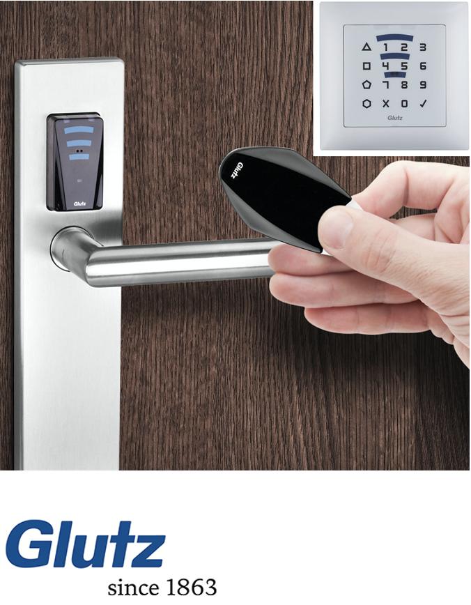 Intelligenten Tür- Schließsystem Glutz