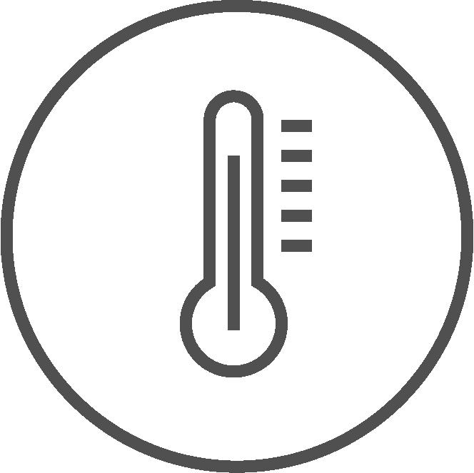 Termometer- und Raumklima Icon