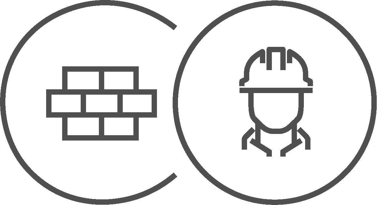 Renovierung und Ausbau Icons