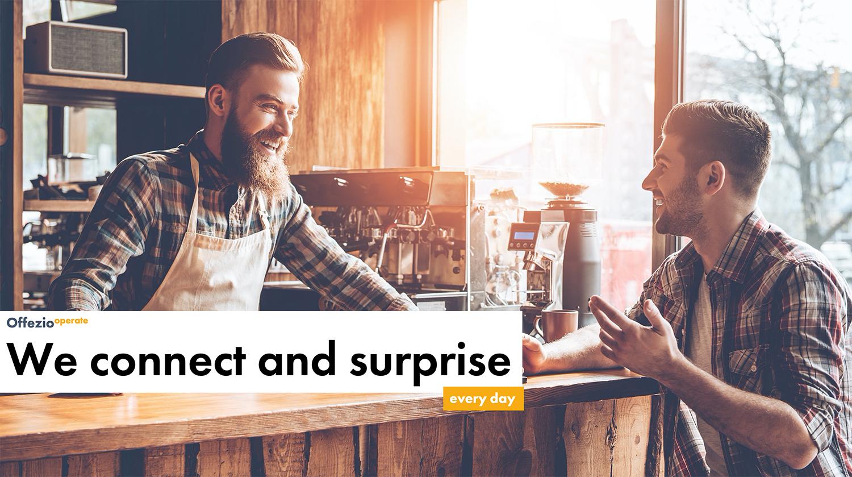 Barkeeper und Kunde: Wir verbinden Menschen