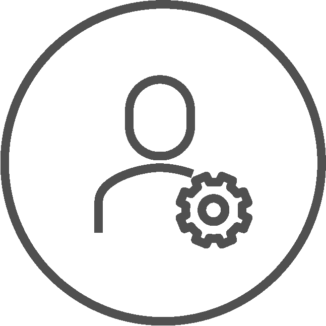 Personalisierter Betrieb Icon