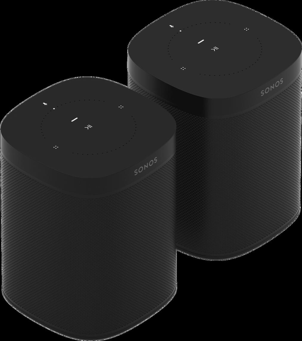 Zwei Sonos Lautsprecher