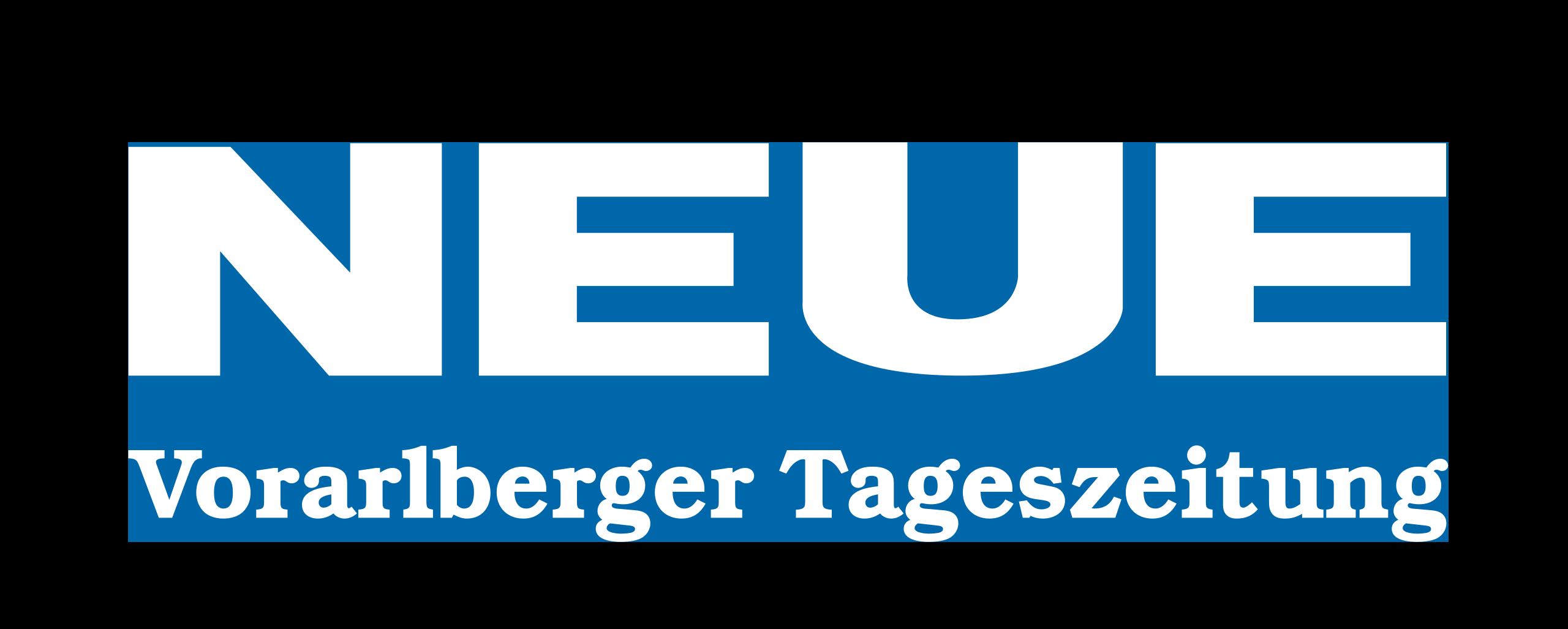 Neue Vorarlberger Tageszeitung Logo weiss