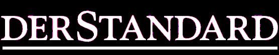 Der Standard Logo weiss