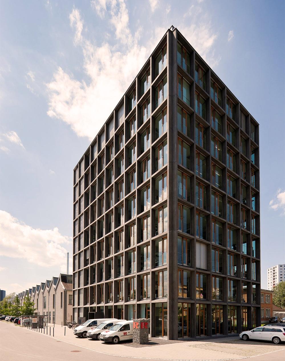 Offezio Hauptsitz- Gebäude in Bregenz