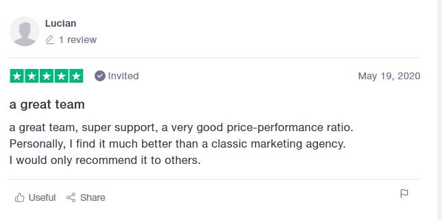 Positive Squadhelp Reviews