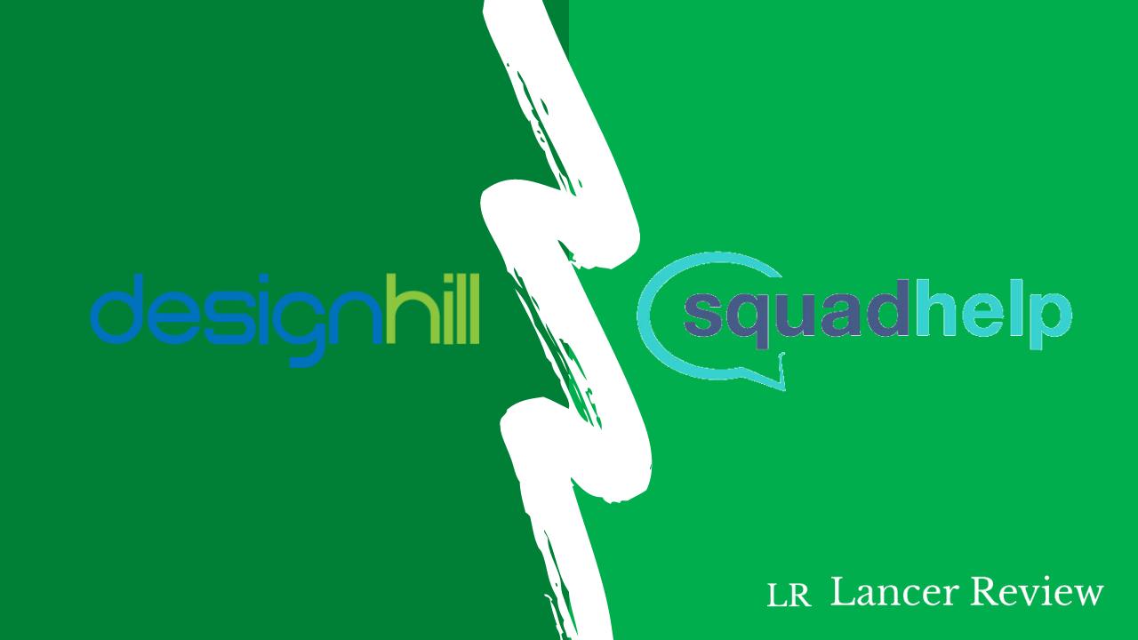 Designhill vs Squadhelp