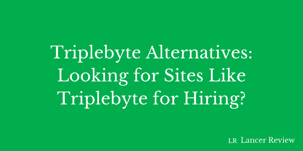 Triplebyte Alternatives