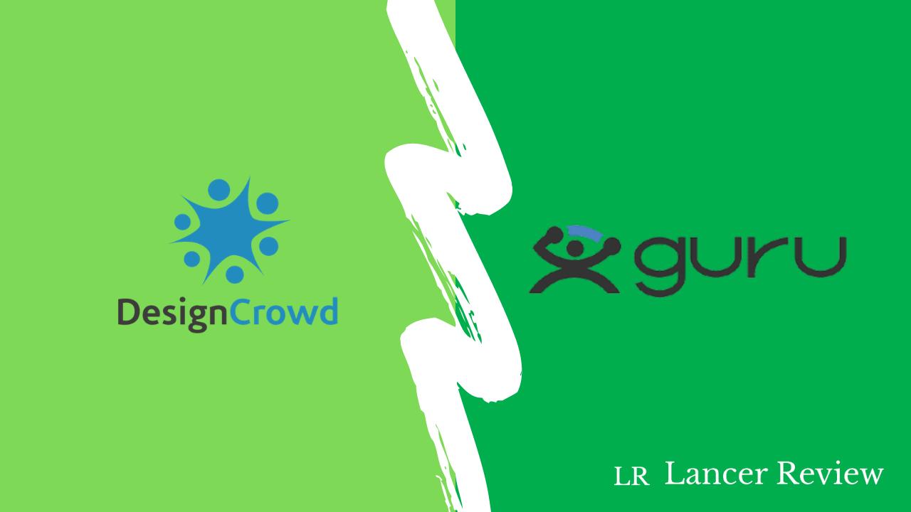 DesignCrowd vs. Guru