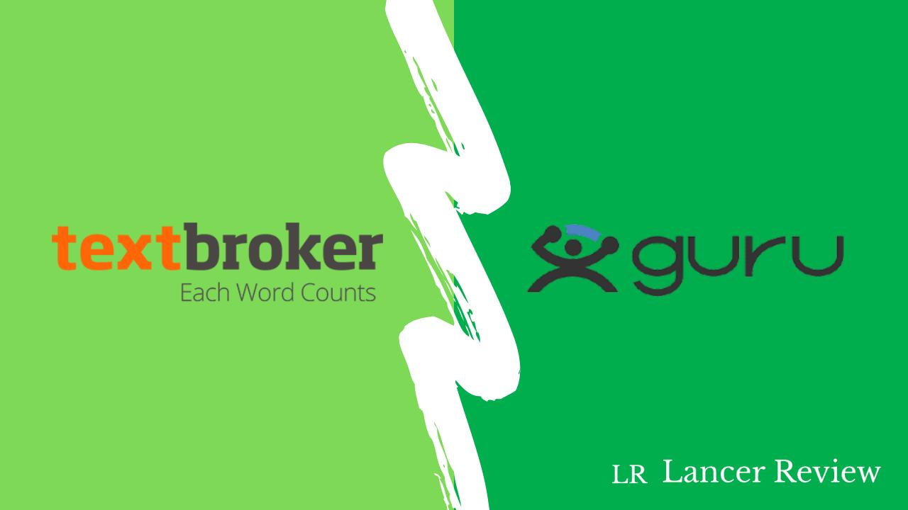 Textbroker vs. Guru