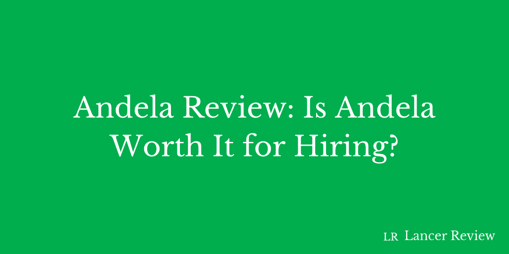 Andela Review