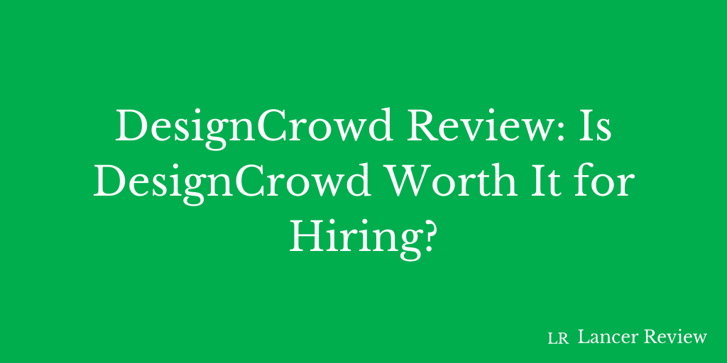DesignCrowd Review