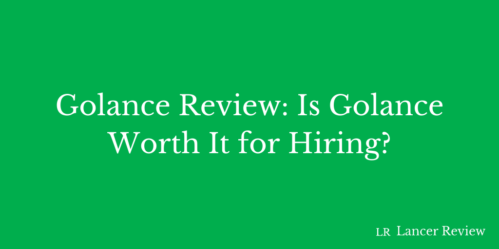 GoLance Review