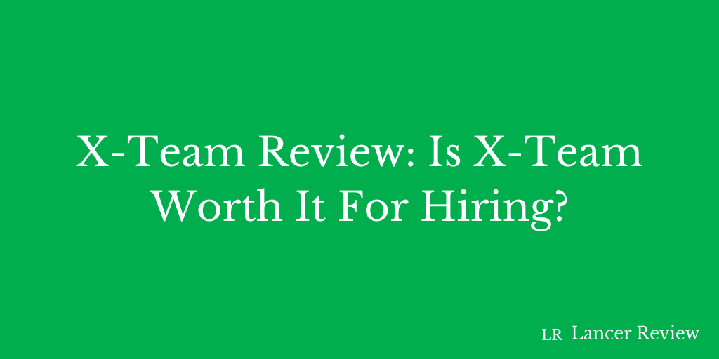 X-Team Review