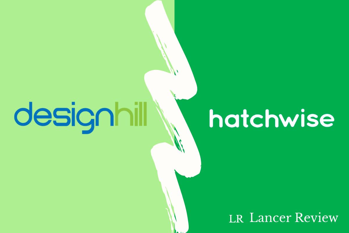 Designhill vs Hatchwise