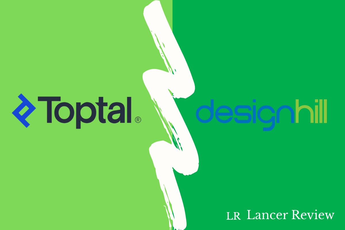 Toptal vs Designhill