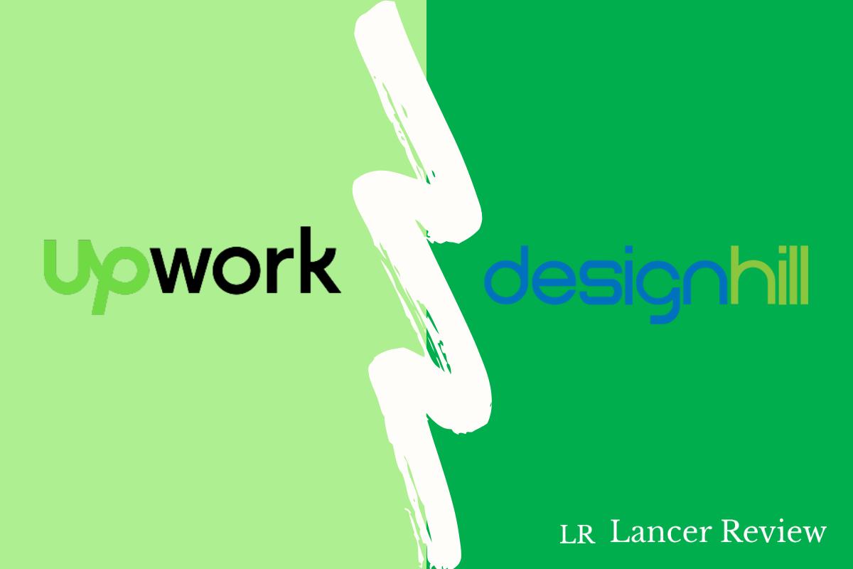 Upwork vs Designhill