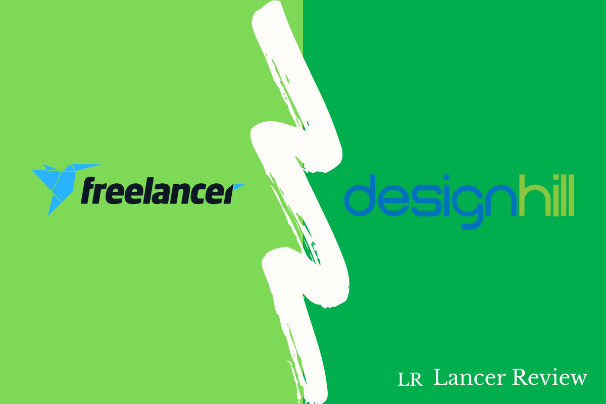 Freelancer vs Designhill