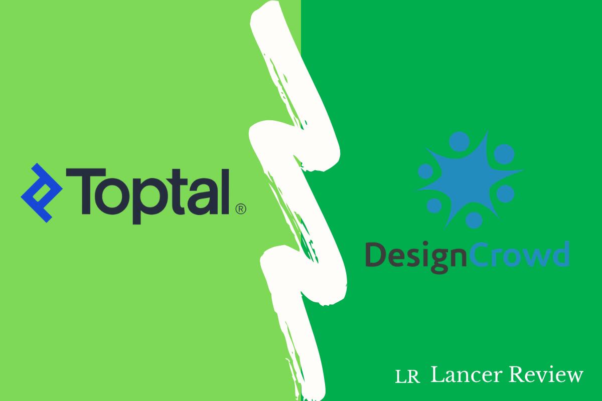 Toptal vs DesignCrowd