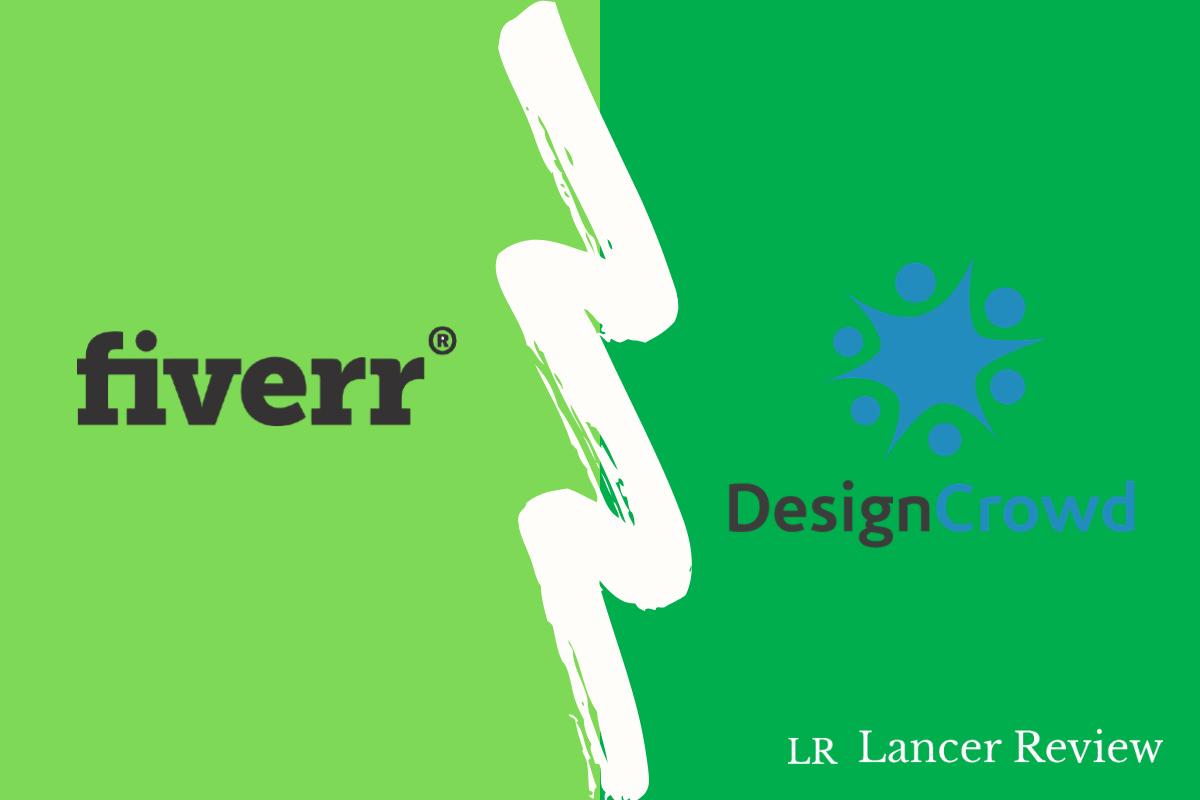 Fiverr vs DesignCrowd