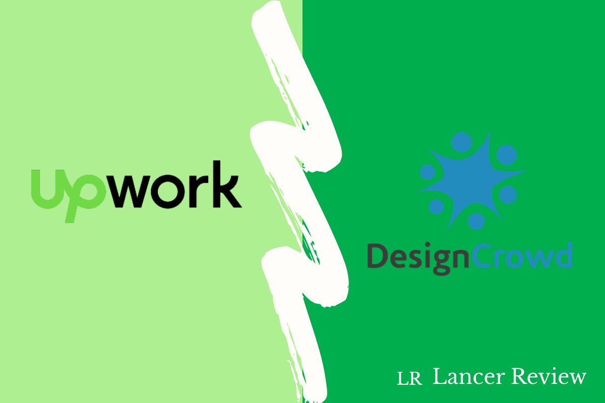 Upwork vs DesignCrowd