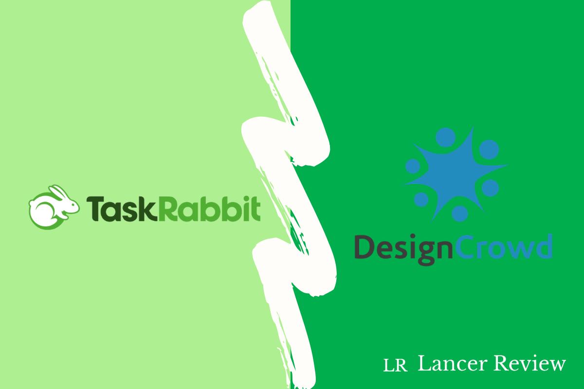 TaskRabbit vs DesignCrowd
