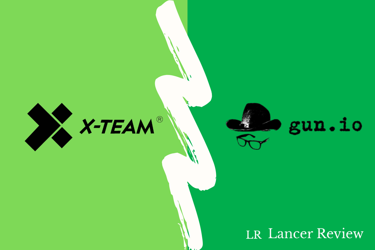 X-Team vs Gun.io