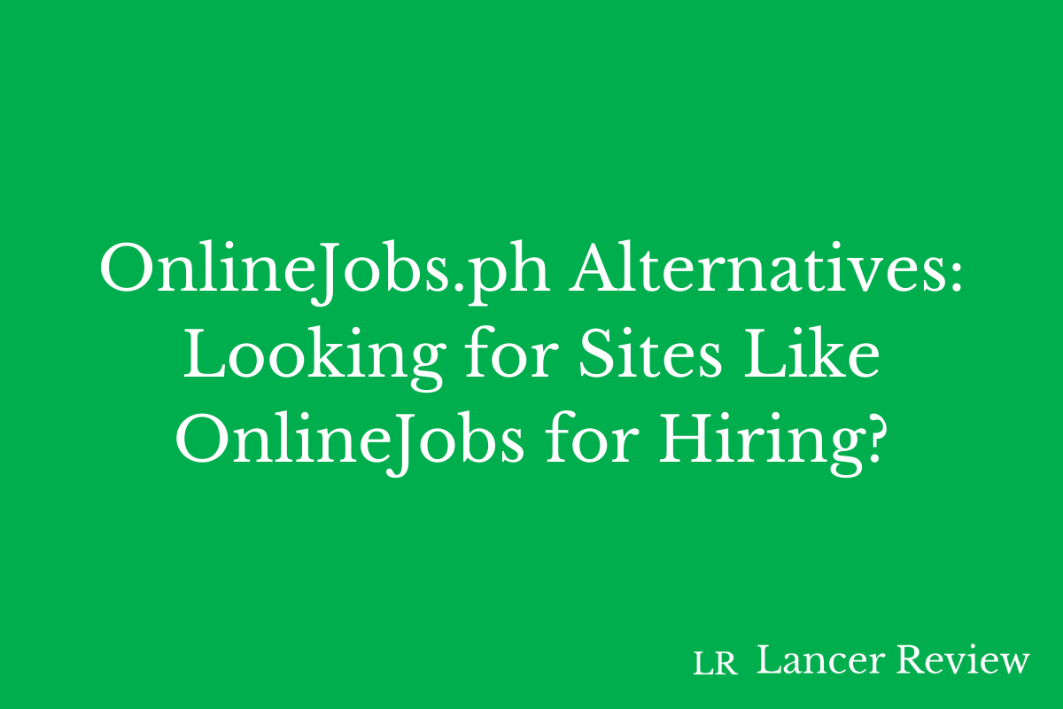 OnlineJobs.ph Alternatives