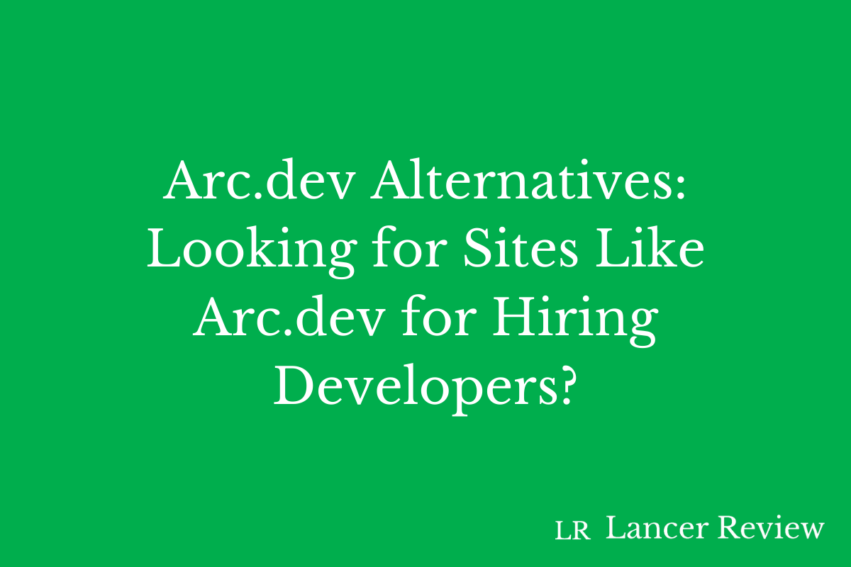 Arc.dev Alternatives