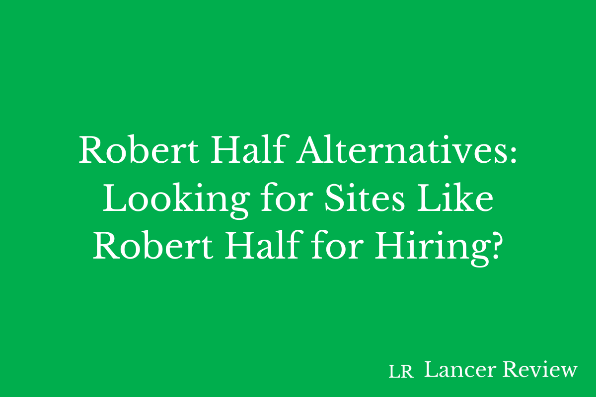 Robert Half Alternatives