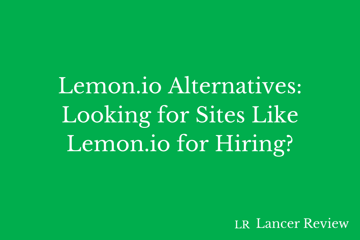 Lemon.io Alternatives