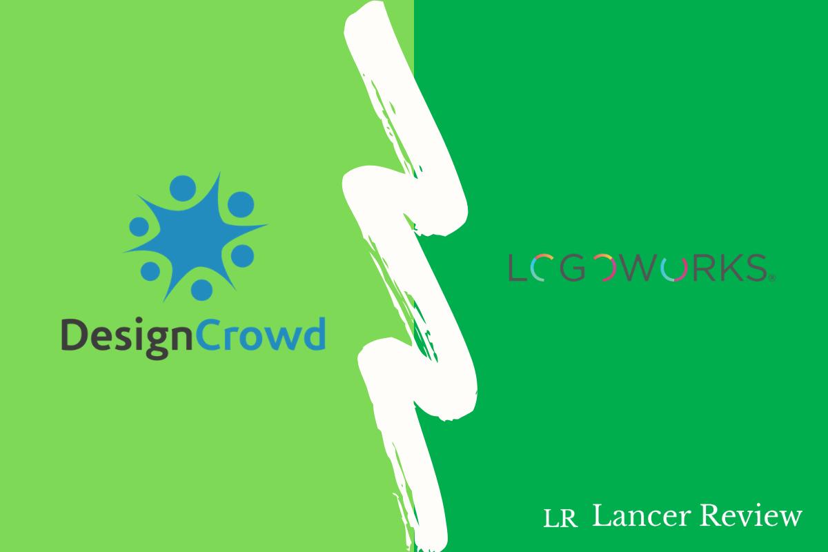 DesignCrowd vs Logoworks