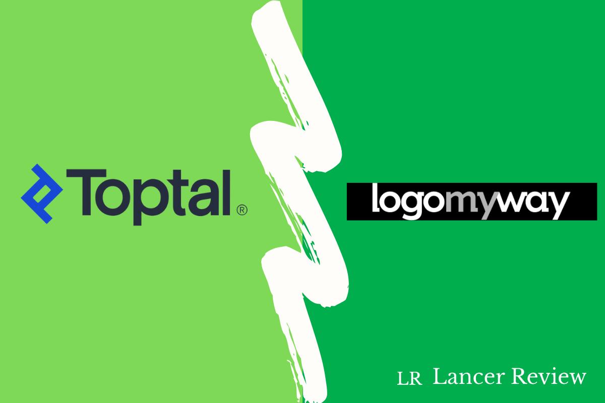 Toptal vs LogoMyWay