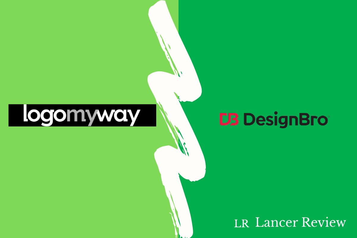 LogoMyWay vs DesignBro