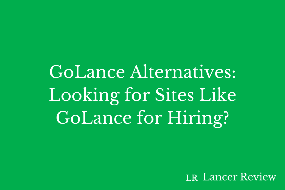 GoLance Alternatives