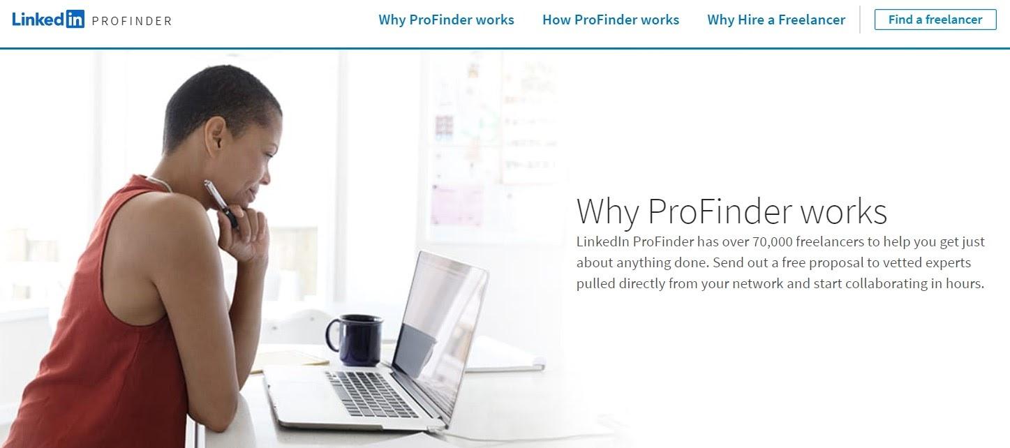 How LinkedIn ProFinder works