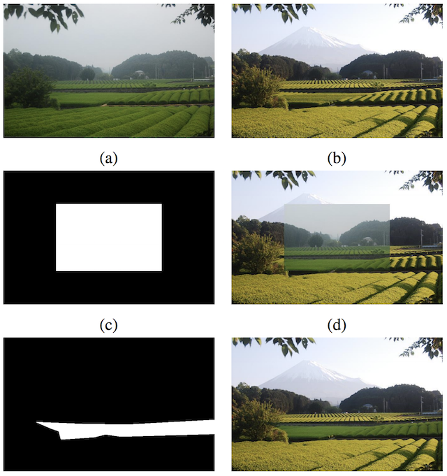 Example of GAN-based Photograph Blending