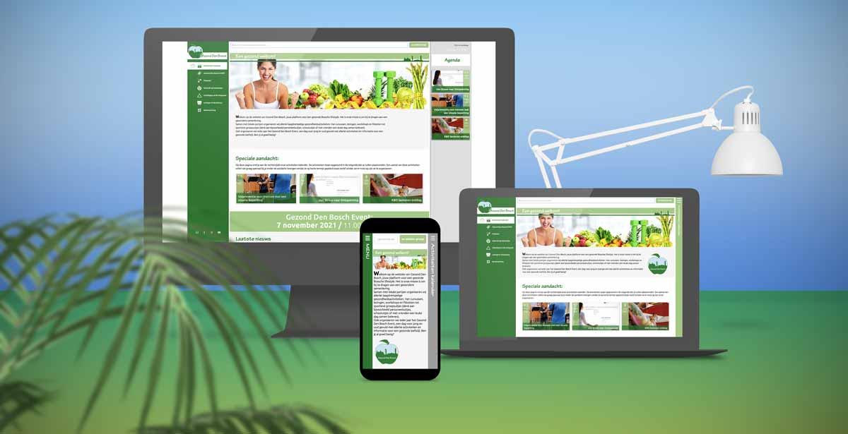 Nieuw ontwerp website!