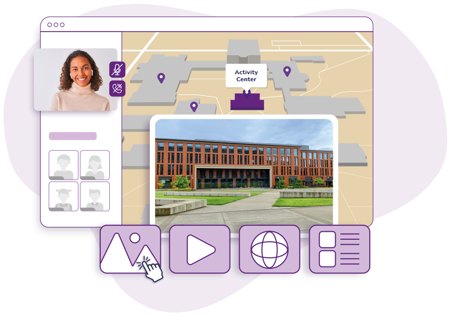 HelloCampus Live product graphic