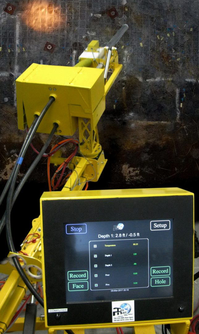TesMan underground software example