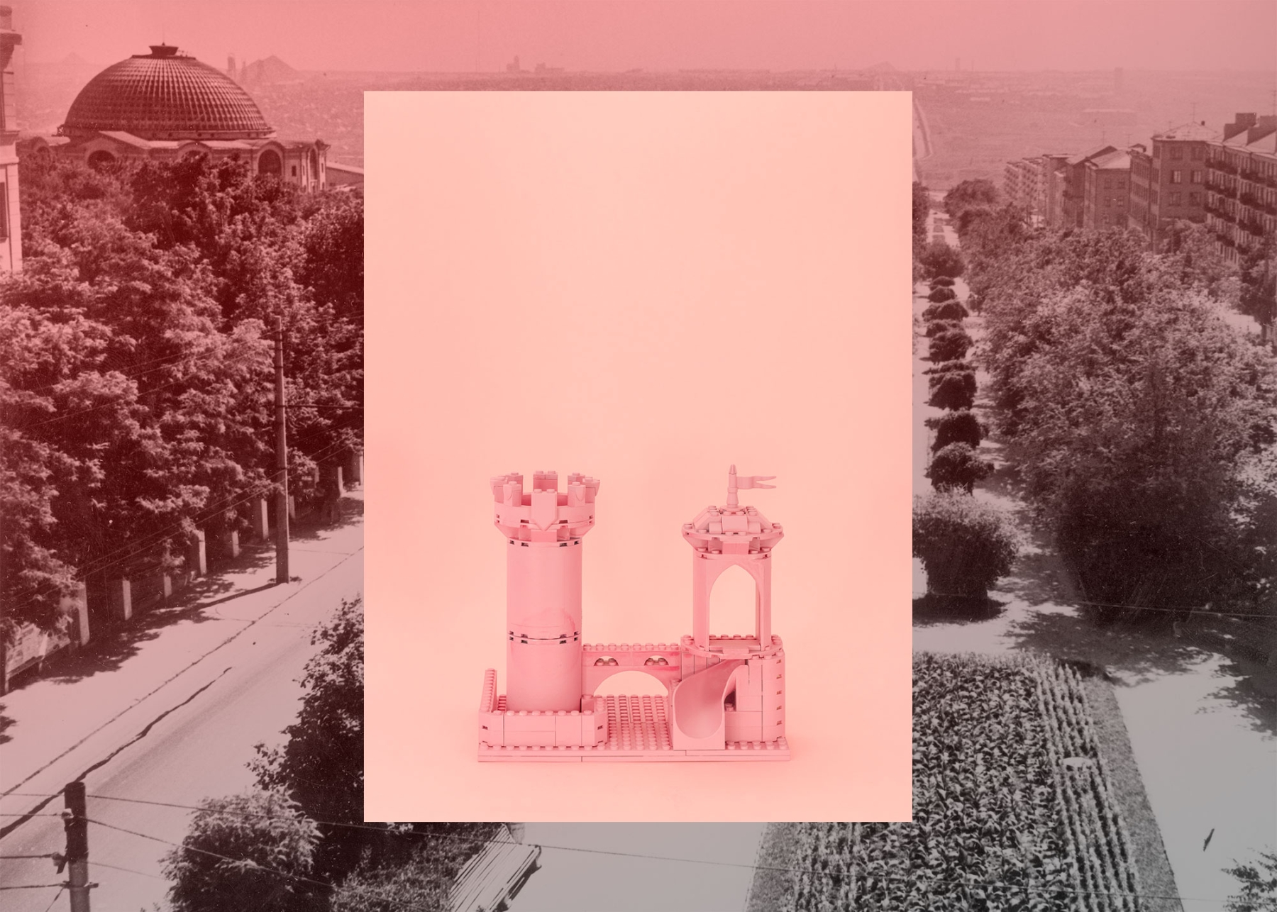 Image from the project 'Fairy Castles of Donetsk', in collaboration with Lia Dostlieva