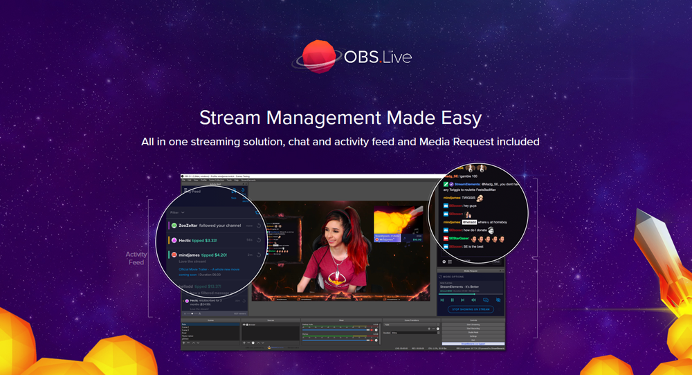 OBS.Live Broadcasting