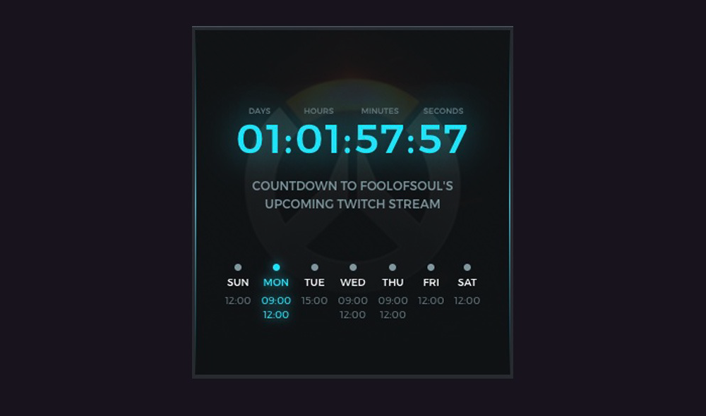 streamlabs countdown extension