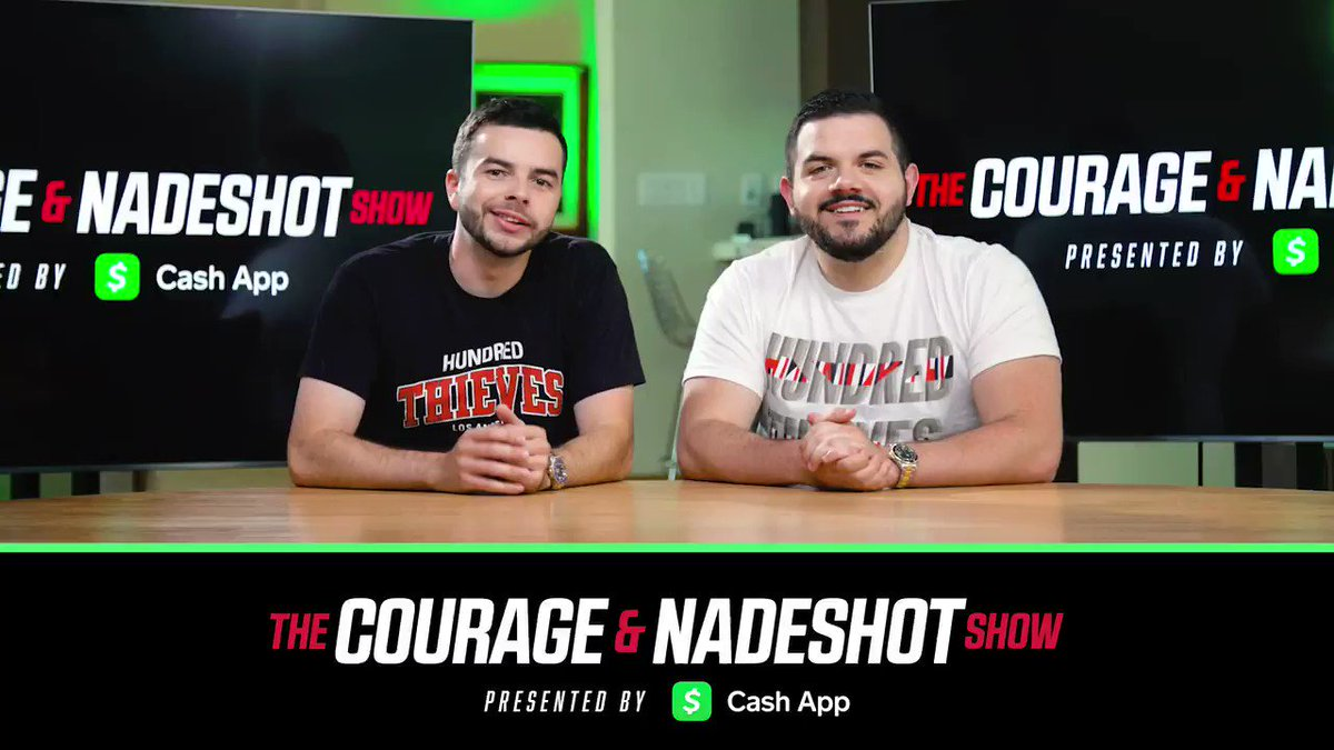 courage and nadeshot show