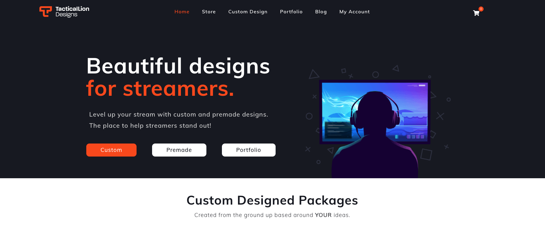 Tactical Lion Designs Homepage