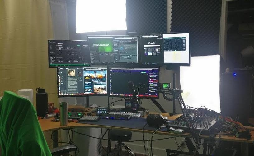 purple setup