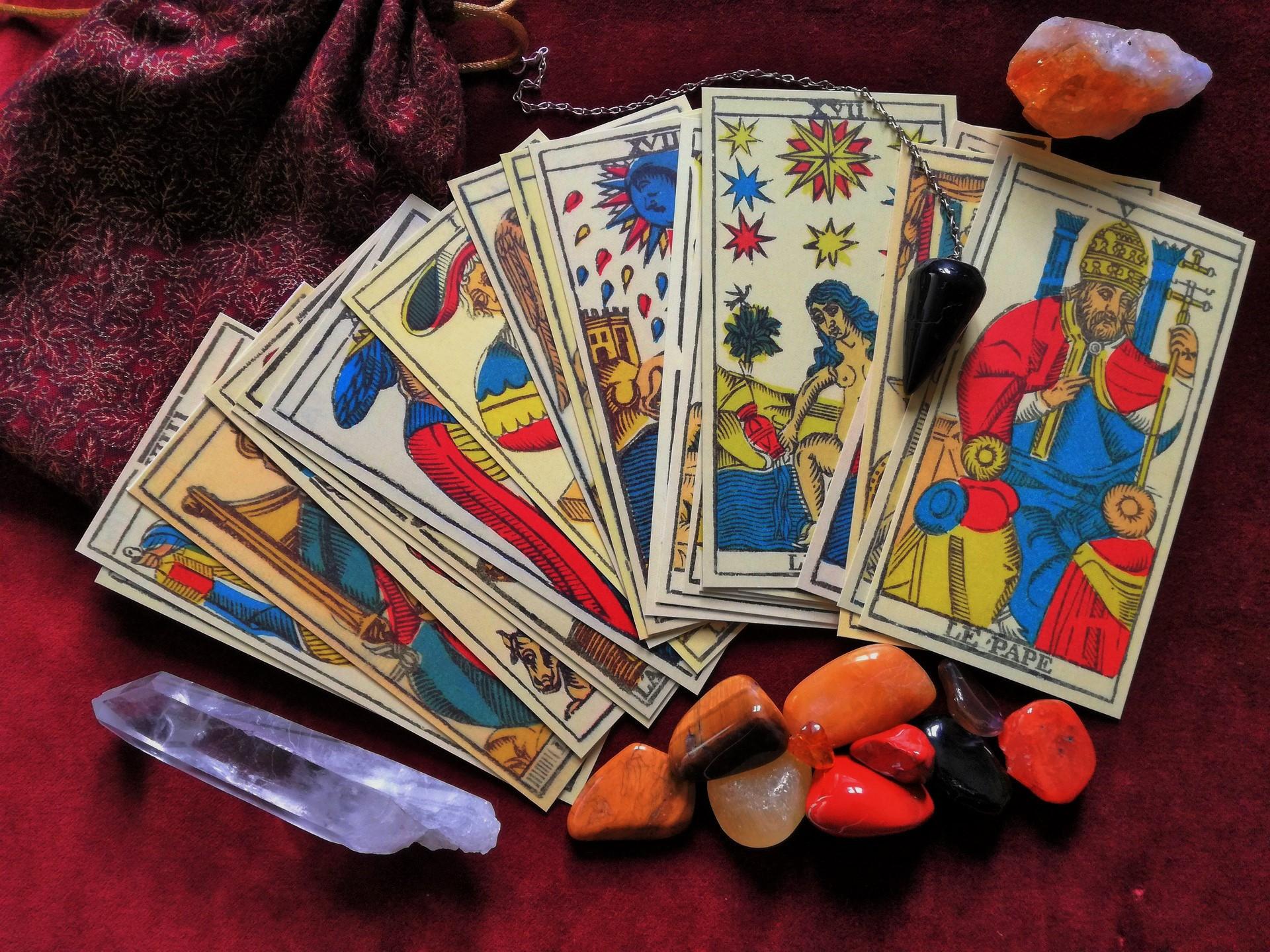 Tarot de Marseille cards
